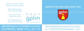 gpkn font