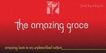 The amazing grace