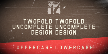 twofold uncomplete design