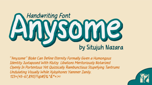 Anysome Font
