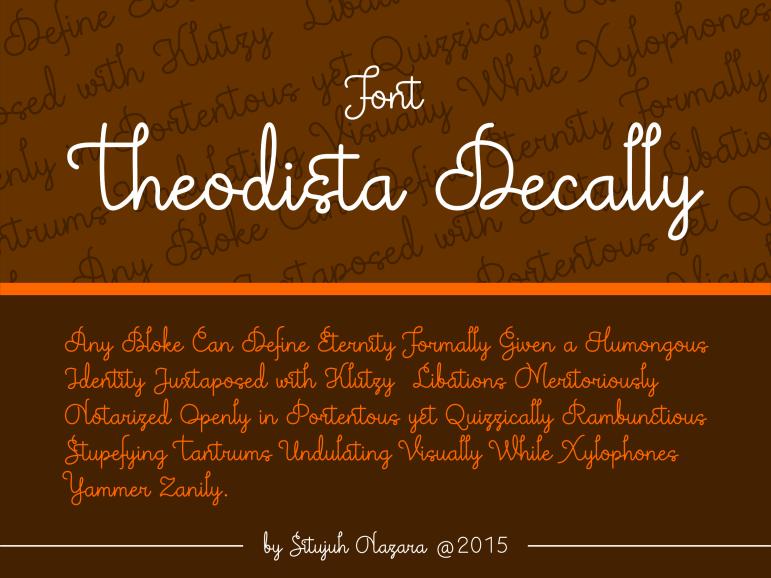 Theodista Decally