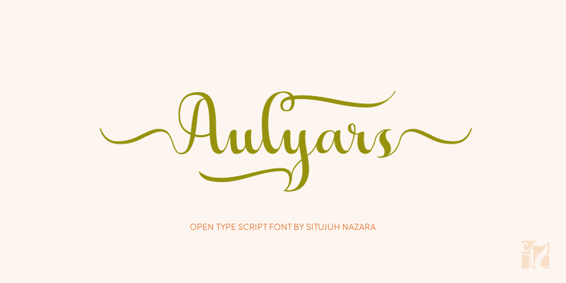 aulyars-font-by-situjuh-nazara