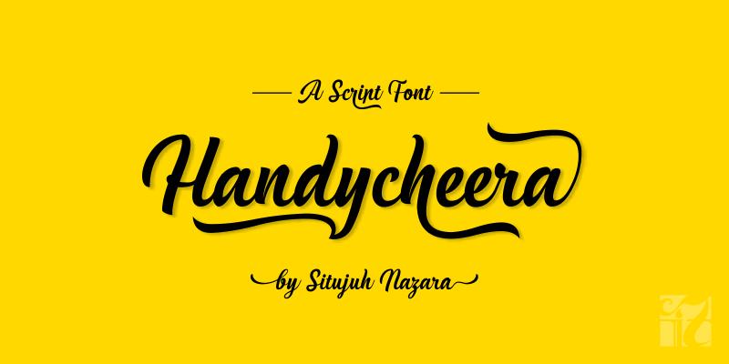 handycheera-font-by-situjuh-nazara